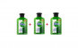 Set 3 Gel antibacterian Detox, dezinfectant, pentru maini 250 ml + 2 Masti chirurgicale faciale din 3 straturi/albastra