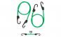 Set de cordeline de fixare profesionale - Verde - 90 cm x 8 mm - 2 buc. / pachet