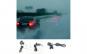Lumina laser spate auto pentru ceata