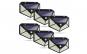 Set 6 lampi solare 100 LED, senzor de miscare