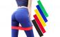 Set antrenament, 5 benzi elastice fitness, yoga, pilates, aerobic, exercitii fizice