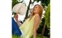 Evantai Fix din Frunze Palmier 30x35cm