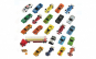 Set de 25 masinute Turbo Racer, material metal, multicolor
