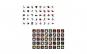 Set cartonase asociere 2 in 1 Tumama   pentru bebelusi si copii, Material Carton,Ilustratii animale, fructe, legume, 40 piese, alb negru