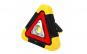 Triunghi Luminos MRG M-HB6609, Reincarcabil, Panou solar, Negru/Galben C424