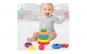 Jucarie Montessori stivuit 2in1 Piramida