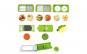 Razatoare Legume si Fructe Multifunctionala Reflection Vision®, Set Compus din 9 Piese Nicer Plus, 11 Moduri de Taiere,  Accesoriul Ideal pentru Bucatarie, Design Modern + Spinner