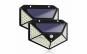 Set 4 x Lampa solara 100 Led cu senzor de miscare
