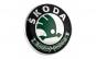 Emblema Skoda, montare pe capota sau portbagaj, 78mm
