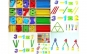 Jucarie Montessori din lemn Matematica - Numaram cu Betisoare si Cifre Black Friday Romania 2017