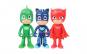 Set figurine Eroi in Pijama + masca cu lumini