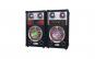 Boxe audio profesionale Ailiang, 300 W, Port USB, SD Card, Joc de lumini, 20 Hz-20kHz ± 1.5 dB, 2 Intrari de Microfon