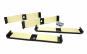 Set suport placuta numar inmatriculare Ultra Slim - 4 bucati (fata + spate), fara rama, negru