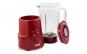 Blender de masa Zass ZSB 10 RL Red Line, 500W, Vas din sticla termorezistenta de 1,5L , 5 trepte de viteza cu functie Pulse, cutit cu 4 lame din inox