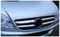 Set de 4 ornamente crom masca fata compatibile Mercedes Sprinter W906 2006-2013 Black Friday Romania 2017