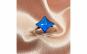 Inel argint swarovski elements albastru