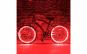 Kit luminos tuning roti bicicleta, Rosu