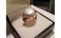Inel din Argint decorat cu perla - marimea 57