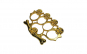 Box - Rozeta model Craniu, auriu