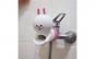 Extensie/prelungitor robinet chiuveta pentru copii, din cauciuc, model tip desene animate, iepuras