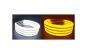Angel Eyes cotton compatibil BMW E46 fara lupa. Lumina: alba DRL + semnalizare galbena jsta