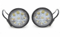 Set 2 proiectoare rotunde LED Auto 27W/12V-24V