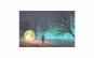 Tablou Canvas Intalnire cu Luna 75 x 95 cm rama de lemn ascunsa margini printate