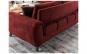Canapea 3 locuri Carmel  Red