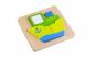 Mini Puzzle lemn,vapor, Tooky Toy