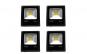 Pachet 4 proiectoare LED, 10W, 220v, exterior, IP65