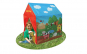 Casuta - ferma pentru copii 95x72x102 cm