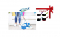 Galeata cu mop rotativ  360 + Tigaie teflon Mini Happy, 12 cm Cadou