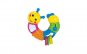 Jucarie interactiva pentru bebelusi, model omida, multicolor