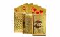 Carti de joc aurii, pachet a 52 carti + 2 jokeri, CJ2006