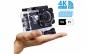 Camera video sport, 4K - Ultra HD, Wifi, Waterproof, Negru
