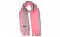 Sal casmir fular lung de dama 68/192 cm, roz/violet