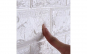 Tapet autoadeziv 3D (design caramida)