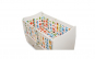 Set lenjerie de patut U-grow, imprimeu numere, 5 piese