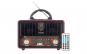 Set Radio cu MP3 Player si Bluetooth Meier M-U111, FM/AM/SW3, USB, SD/ TF CARD, Telecomanda, Maro-Negru si Modulator FM Centenar KC-681