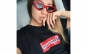 Ochelari de soare dama Cateye Rosu