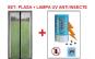 Plasa si lampa UV impotriva insectelor