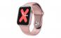 Ceas Smartwatch Techstar® W58Pro Roz  1.3 inch IPS  Monitorizare Temperatura  Sedentarism  Bluetooth  IP67