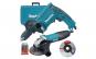 Set MAKITA DK0050X1, Polizor unghiular GA5030R + Masina de gaurit cu percutie HP1631 + accesorii