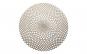 Suport farfurii rotund pvc 38cm auriu