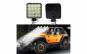 Set 2 x Proiectoare auto, patrate, 48W, 16 Led-uri Black Friday Romania 2017