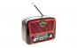 Set Radio cu MP3 Player cu Bluetooth Golon RX-435BT FM/AM/SW4, USB, SD, Negru-Rosu si Modulator Centenar KC-681