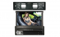 Set Radio Mp5 Video Player Auto Multimedia 1DIN cu camera Numar, Ecran Retractabil 7inch Telecomana si mirror