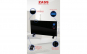Convector cu sticla Zass ZKG 01 Black, 2000W, Panou touchscreen, Afisaj LCD, Blocare pentru copii