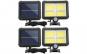 Set 2 lampi solare 128 x LED COB, senzor de miscare si panou solar, 10W KATHODE