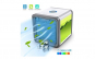 Mini Aer Conditionat Portabil Techstar® Personal 10W Umidificator cu Alimentare prin USB  pt Birou si Acasa